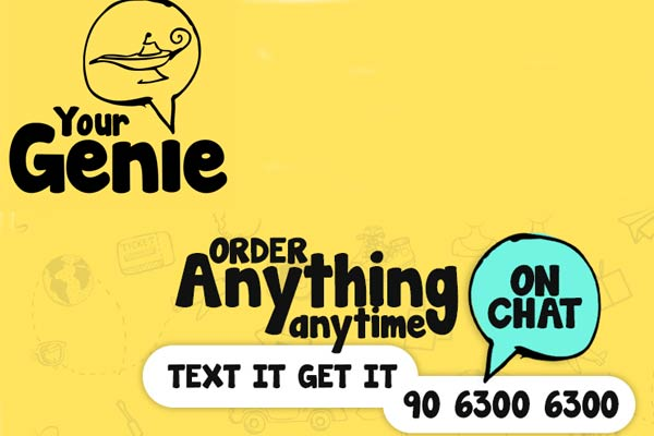 YourGenie, Genie is at your service both locally and internationally with delivery services, item pickup, gifting, surprise planning, customized requests,