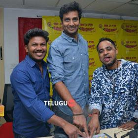 Babu Baga Busy Movie Song Launch at Radio Mirchi Photos,