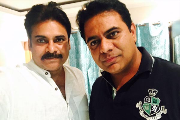 KTR and Pawan Kalyan – two minds with a single thought