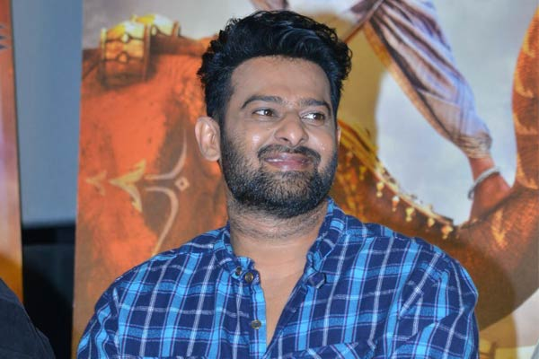 Prabhas ready to shoot for teaser