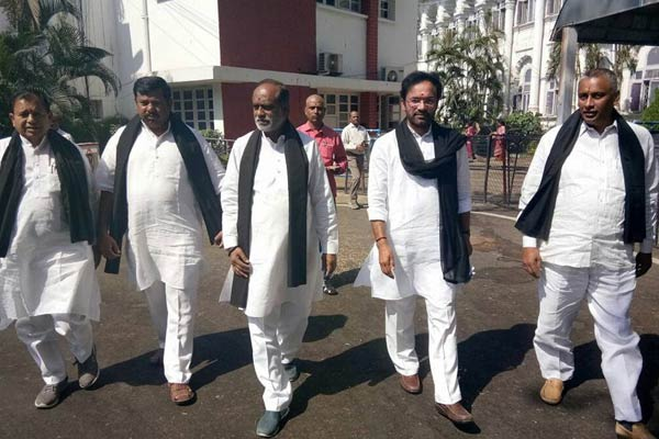 Telangana BJP leaders suspended from Assembly