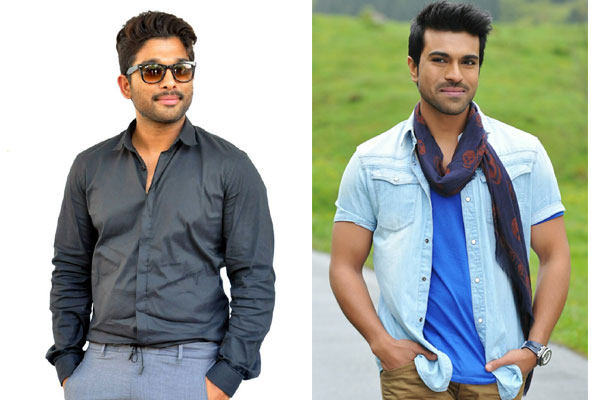 Geetha Arts planning a Mega multistarrer with RC and AA ?