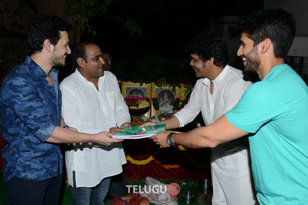 Manam Team for Akhil's Second