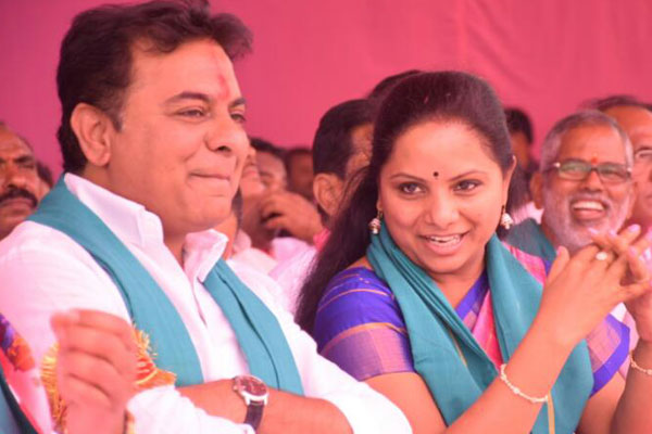 Is KTR not happy at Kavitha becoming MLC?