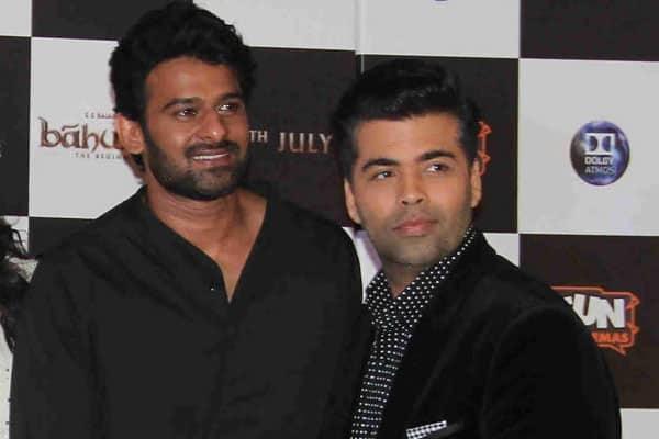 Karan Johar wants to launch Prabhas in Bollywood