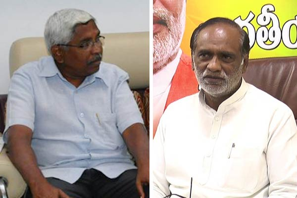 Kodandaram meets Laxman to seek support on two issues