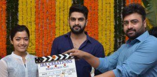 Naga Sourya New Movie Opening, Nara Rohit clap the Naga Sourya New Movie