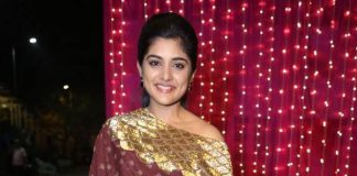 Actress Nivetha Thomas at Zee Telugu Apsara Awards 2017