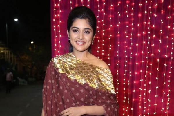 Actress Nivetha Thomas at Zee Telugu Apsara Awards 2017