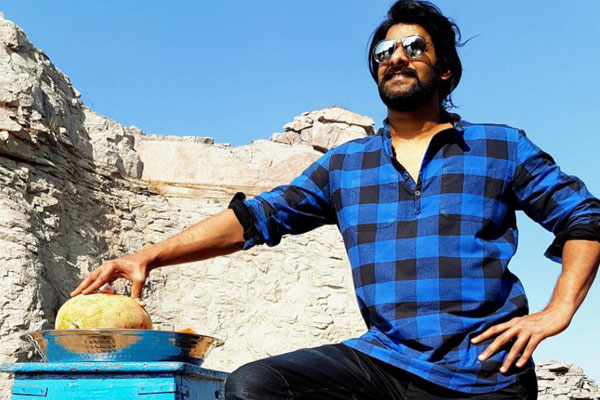Saaho confirmed as Prabhas19Title