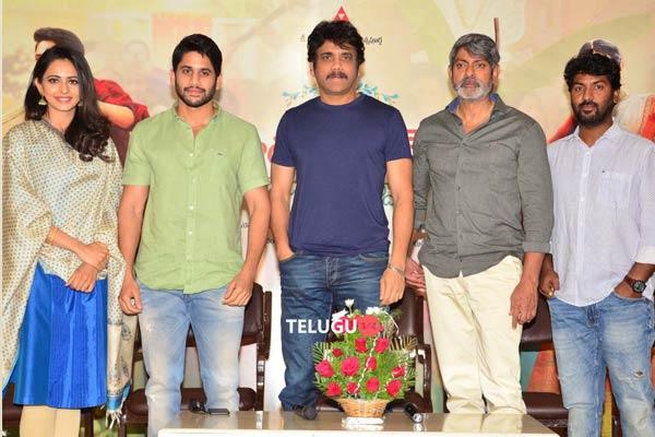 Rarandoi Veduka Chuddam Press Meet