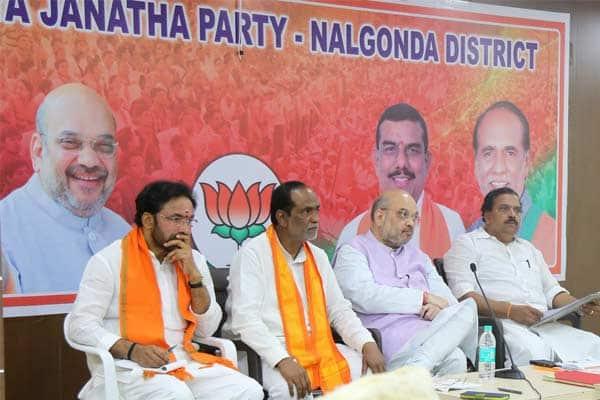 Telangana should be southern gateway for BJP: Amit Shah