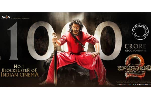 Baahubali 2 scripts history by launching the 1000 Crore club