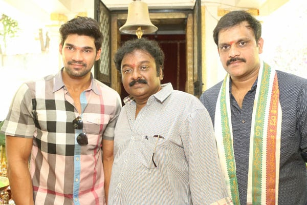 Vinayak and Boyapati launch young hero's next