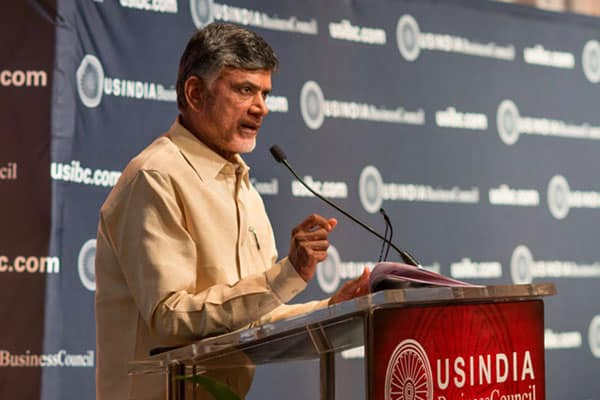 Chandrababu impresses Silicon valley elites