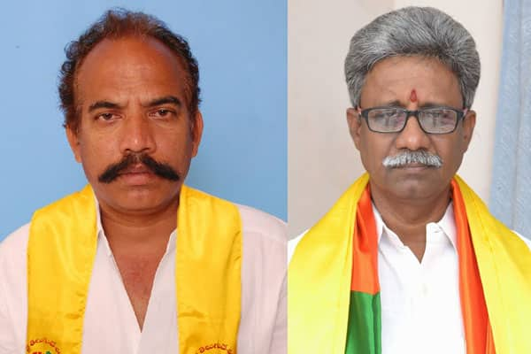 TDP-BJP Ministers lock horns over belt shops