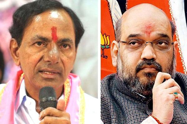 Congress calls Amit Shah's visit to Telangana a