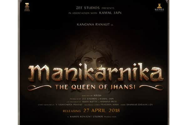 Kangana Ranaut Launched A 20 Feet Tall Poster Of Manikarnika In Varanasi