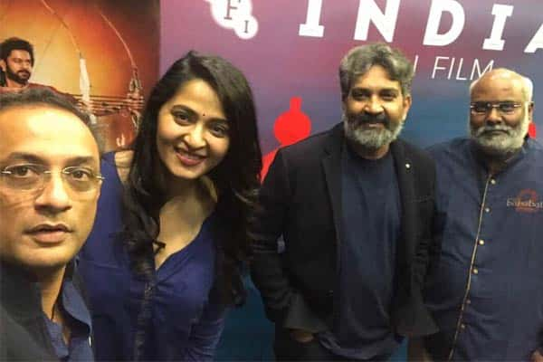 Rajamouli not Holidaying, Busy promoting in London
