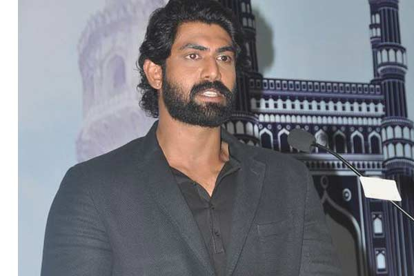 Rana has an Epic Reply when asked about his wife in Baahubali