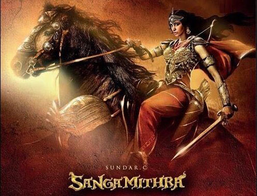 Shruti Haasan Dropped From Sangamithra