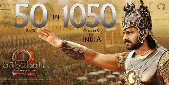 50 days of 'Baahubali 2', film still going strong