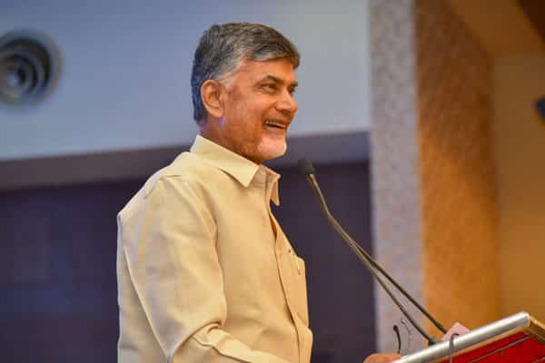 Chandrababu blows his own horn, asks parents to change thinking