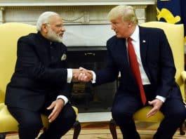 Donald Trump and Narendra Modi met