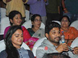 Duvvada Jagannadham team at Sandhya Theater