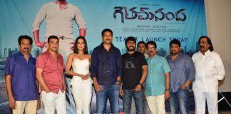 Gautam Nanda Teaser Launch