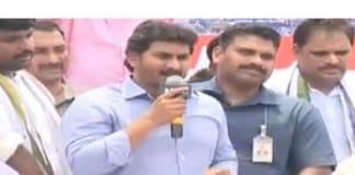 Jagan calls for drowning the land sharks in Bay of Bengal