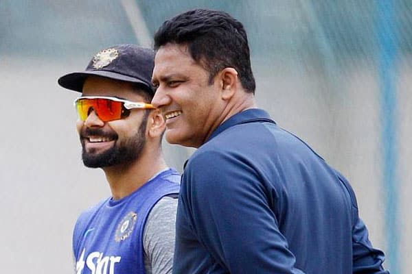 Team India Manager Submits His Report on Kohli-Kumble Row