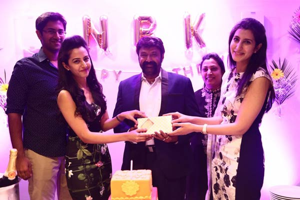 NBK gets an Expensive Gift from his Daughters