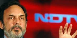 CBI raids NDTV Prannoy Roy's residence