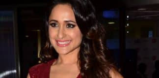 Pragya Jaiswal Stills at Jio Filmfare Awards
