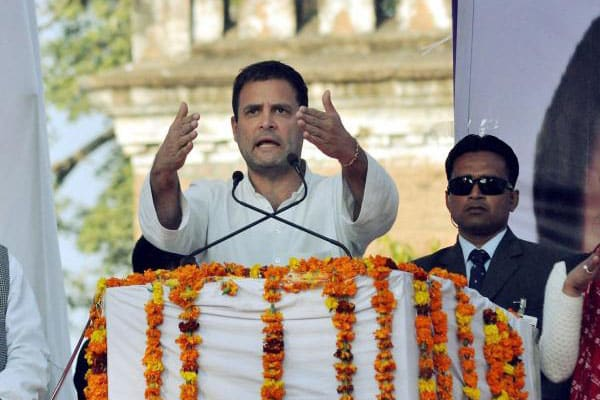 Telangana was not formed to become farmers' graveyard: Rahul Gandhi