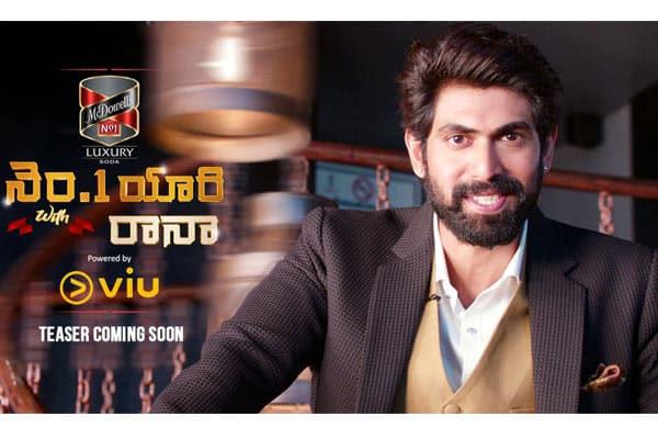 Rana's TV Show titled 'No1 Yaari'