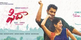 Fidaa 3 days Worldwide Collections