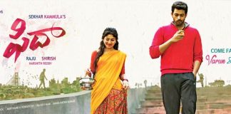 Fidaa 4 days AP, TS Collections