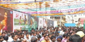 Fidaa Movie Theater Coverage Photos, Sai Pallavi at Fidaa Sudarshan Movie Theater Photos