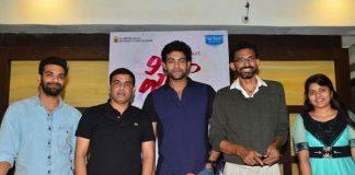 Sekhar Kammula, Varun Tej & Dil Raju at Fidaa Press Meet in Vijayawada