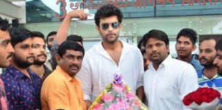 Fidaa Team at Vijayawada Airport, Fidaa promotions at Vijayawada Airport Photos