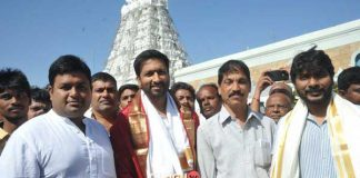 Gautham Nanda team at Tirumala