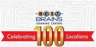 BESTBRAINS Celebrating 100 Locations