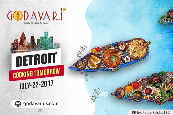 """""""Godavari all set for Detroit launch on July 22"""""""