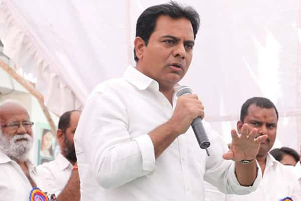 KT Rama Rao lashes out at Congress over corruption allegations