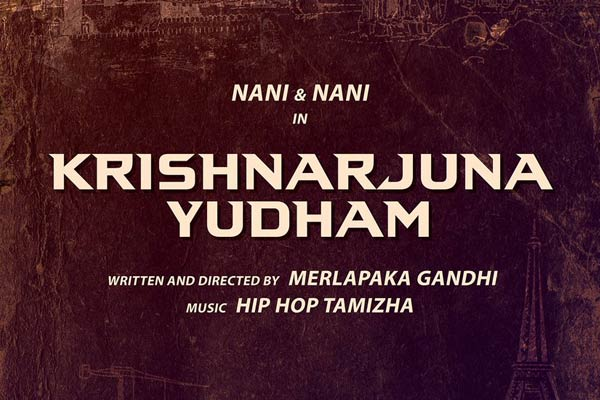 Nani's next Krishnarjuna Yudham