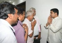 Nara Lokesh's office witnessing many visitors with various problems