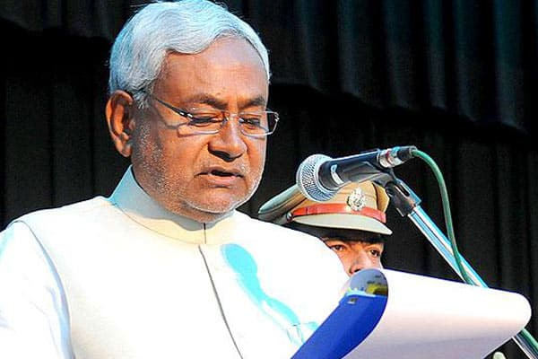 Nitish Kumar returns as CM of Bihar with BJP