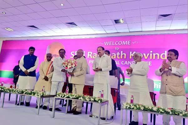 Office of President should be above party politics Kovind